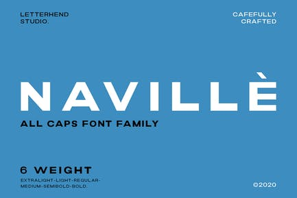 Naville Family - 6 Fonts