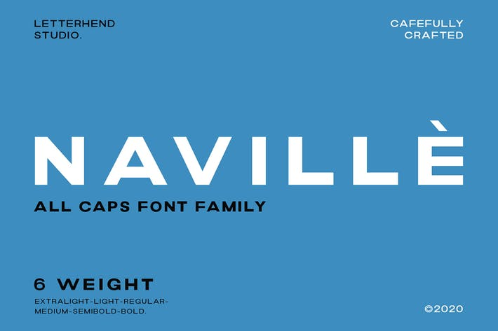 Thumbnail for Naville Family - 6 Fonts