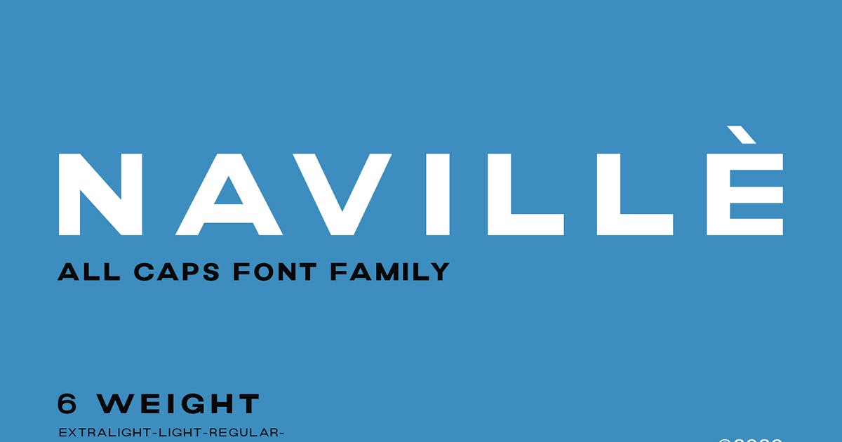 Download Naville Family - 6 Fonts by letterhend