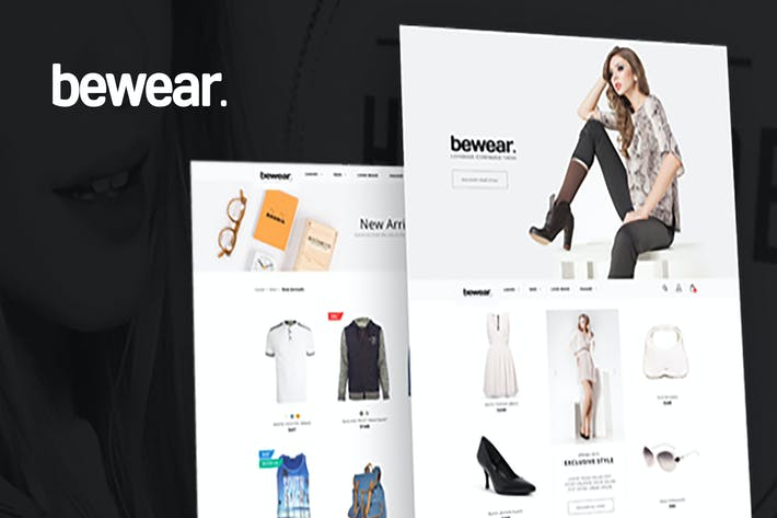 Thumbnail for Bewear - Lookbook Style eCommerce Magento Theme
