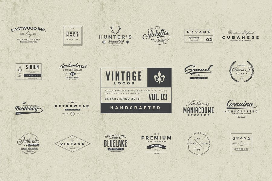 25 Vintage Logos