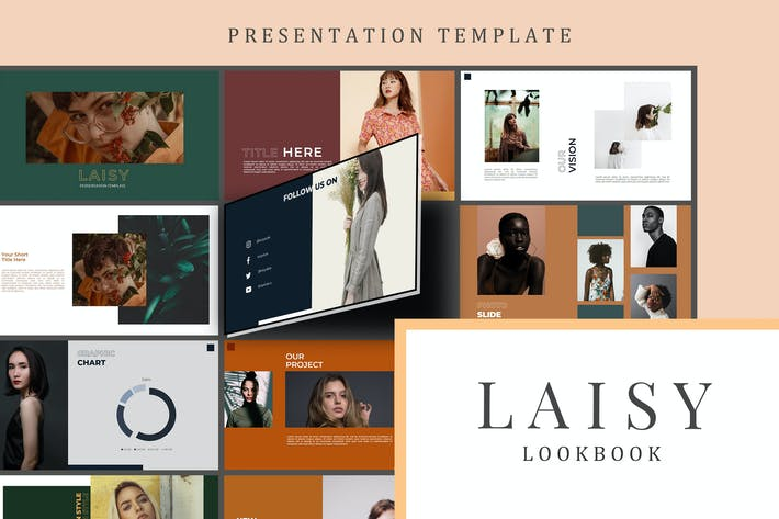Thumbnail for Laisy Fashion - Powerpoint Template