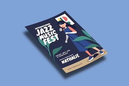 Jazz Fest – Flyers Template