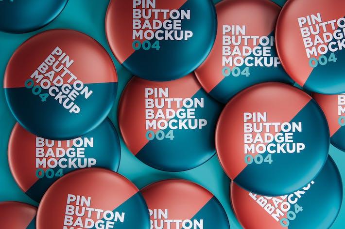 Anstecknadel Button Mockup 004