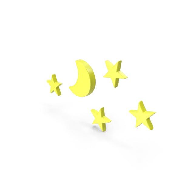 Clear Night Meteorology Symbol