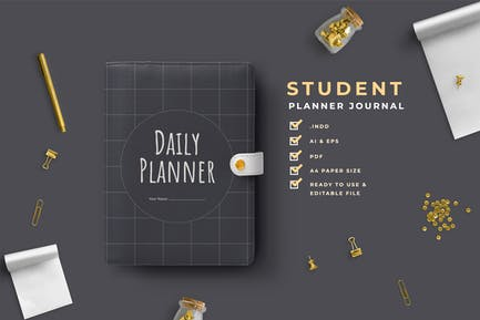 Heyna – Student Planner Journal