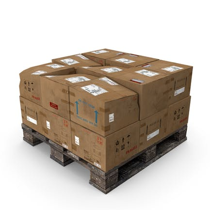 Box Pallet Stack