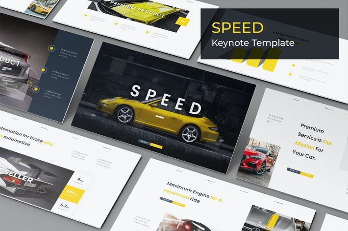 Thumbnail for Speed - Keynote Template