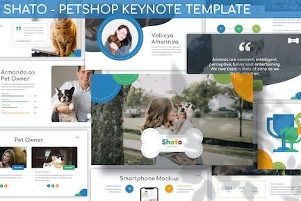 Shato - Petshop Keynote Template