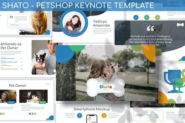 Thumbnail for Shato - Petshop Keynote Template