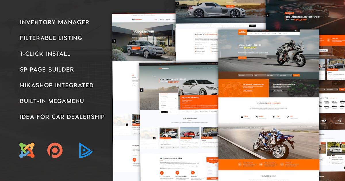Download Auto Showroom - Car Dealership Joomla Template by templaza