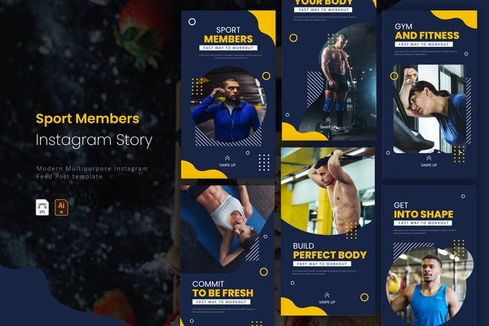 Sport Member |  Instagram Story