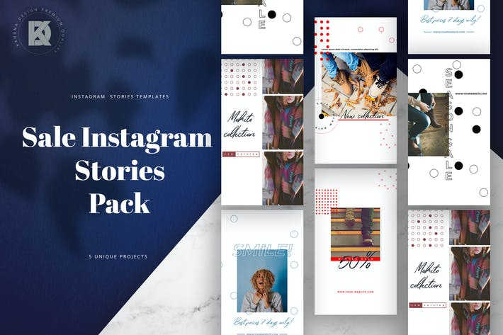 Thumbnail for Sale Instagram Stories Pack