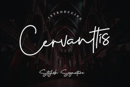 Script de signature Cervanttis