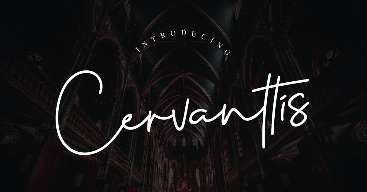 Download Cervanttis Signature Script by RahardiCreative