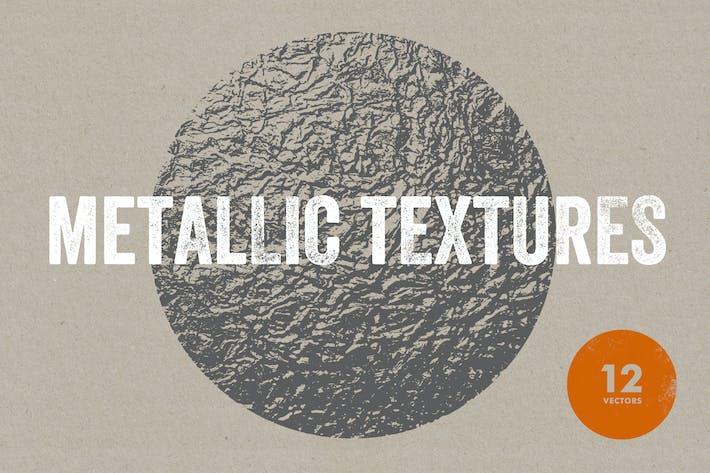 Cover Image For Textures métalliques
