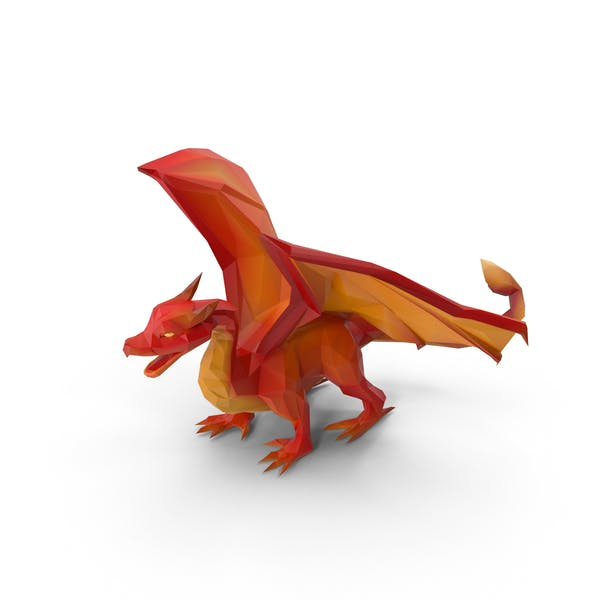 Thumbnail for Low Poly Dragon