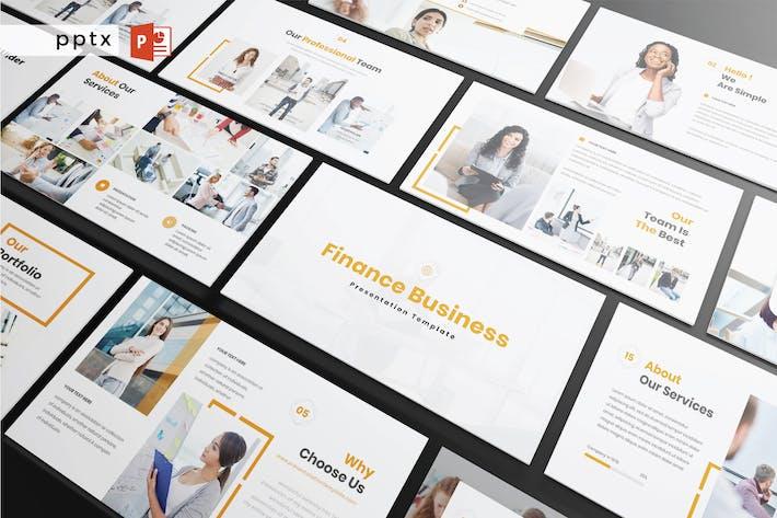 Thumbnail for FINANCE BUSINESS - Powerpoint V425