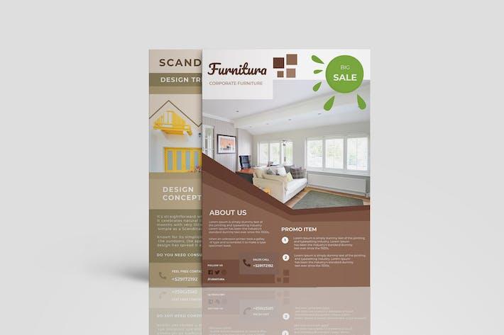 Thumbnail for Furnitura Interiors Brochure Promotion