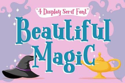 Beautiful Magic - Display Serif Font
