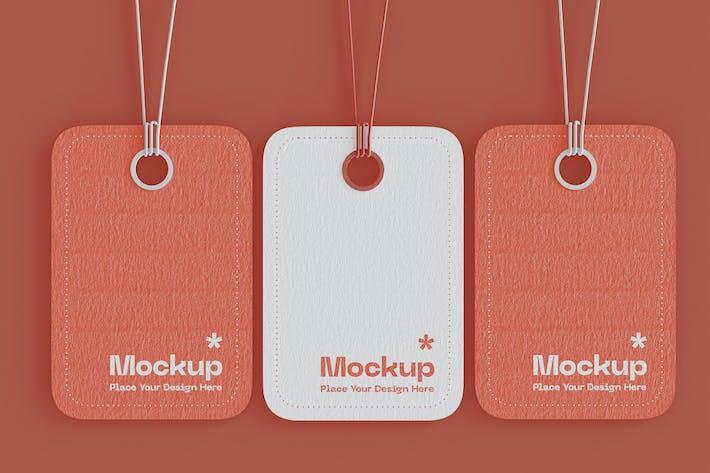 Thumbnail for Hanging Tags Mockups