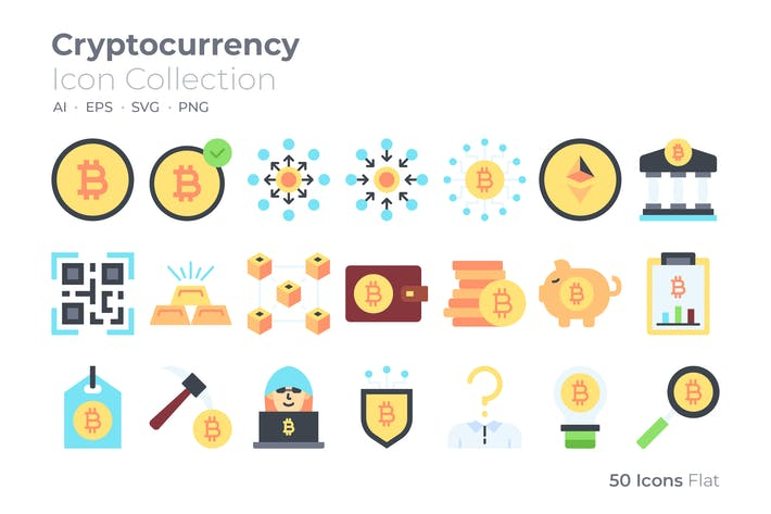Cryptocurrency Color Icon