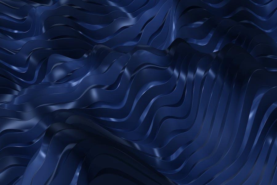 Metal Waves Background