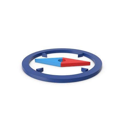 Compass Colored Symbol