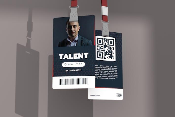 Entrepreneur – ID Card Template