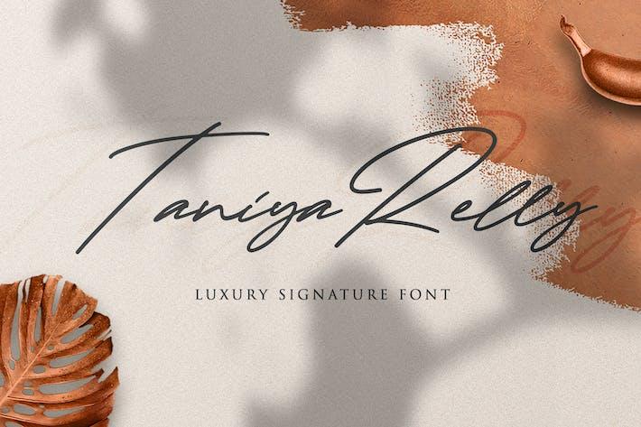 Taniya Relly - Luxury Signature Font