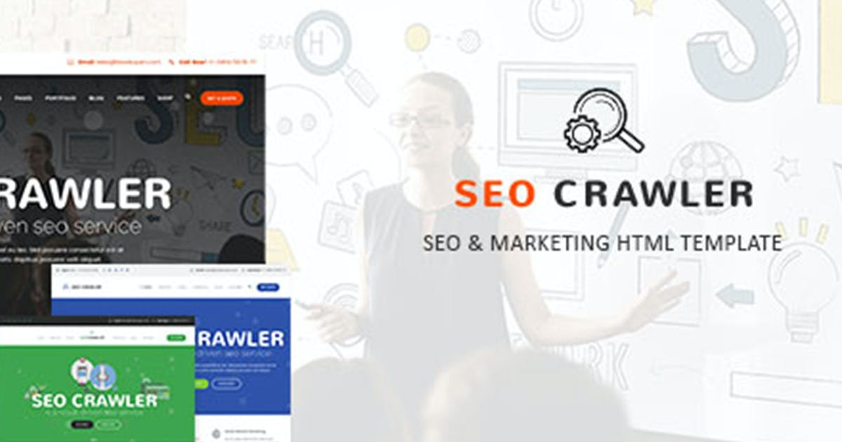 Download SEO Crawler - Digital Marketing Agency HTML Templa by max-themes