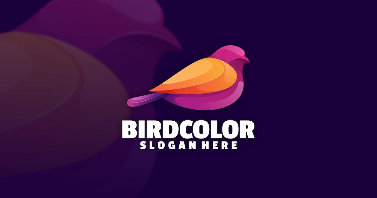 Download Bird color logo template by Ary_Ngeblur