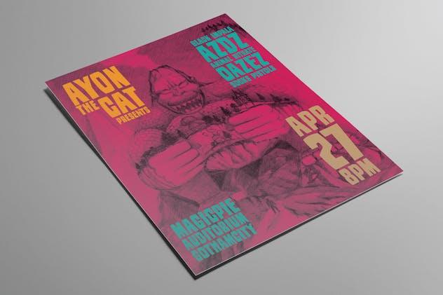 Indie Band Gig Flyer Vol. 6