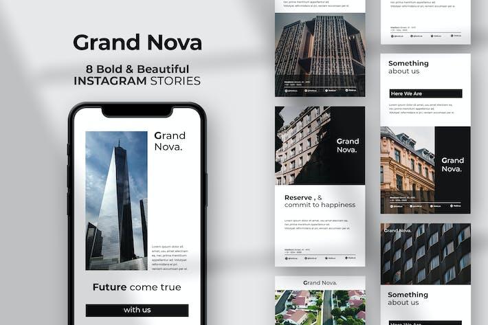 Thumbnail for Grand Nova - Immobilien Instagram Stories