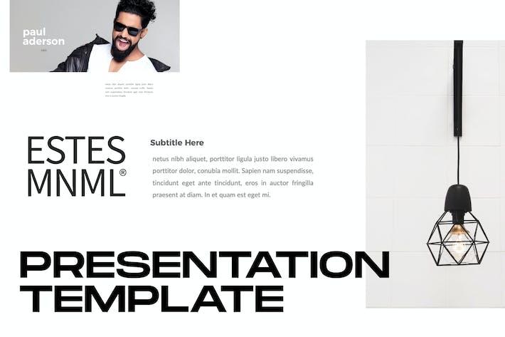 Thumbnail for ESTES - Keynote для бизнеса Минимальный Корпоративный