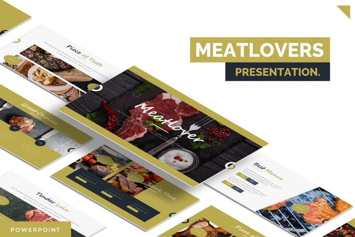 Thumbnail for Meatlovers - Powerpoint Template