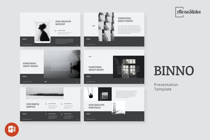 Thumbnail for Binno - Creative Powerpoint Template