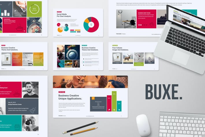 Buxe Creative & Multipurpose Template by SimpleSmart on Envato Elements