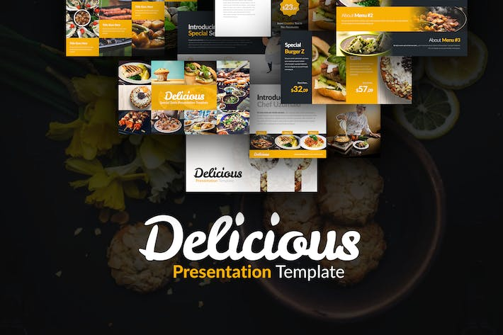 Thumbnail for Delicious Presentation Template