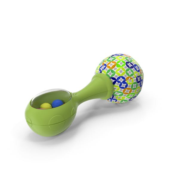 Green Baby Rattle Generic