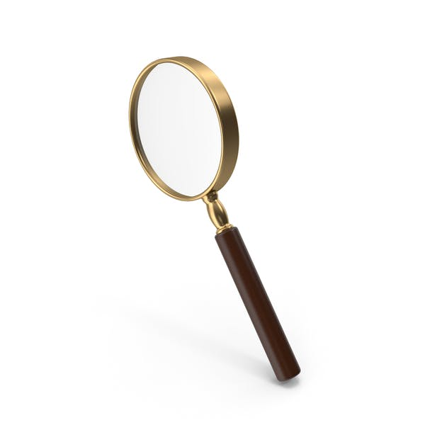 Magnifying Glass Gold