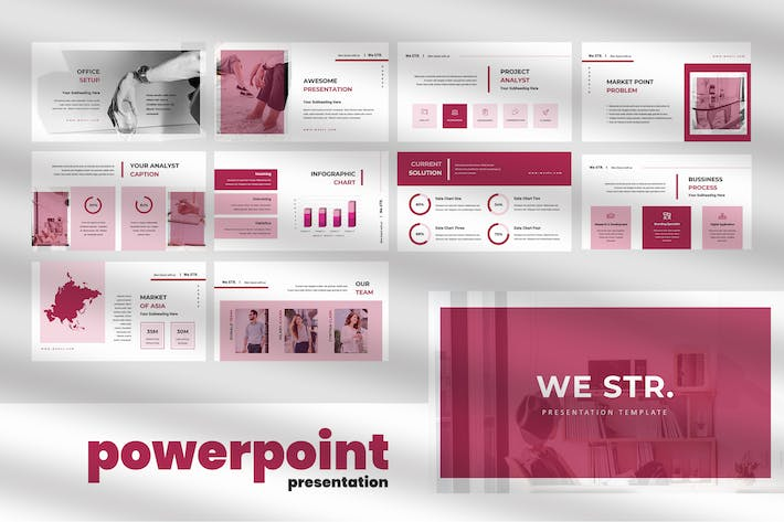 Thumbnail for We STR - Business Powerpoint Presentation