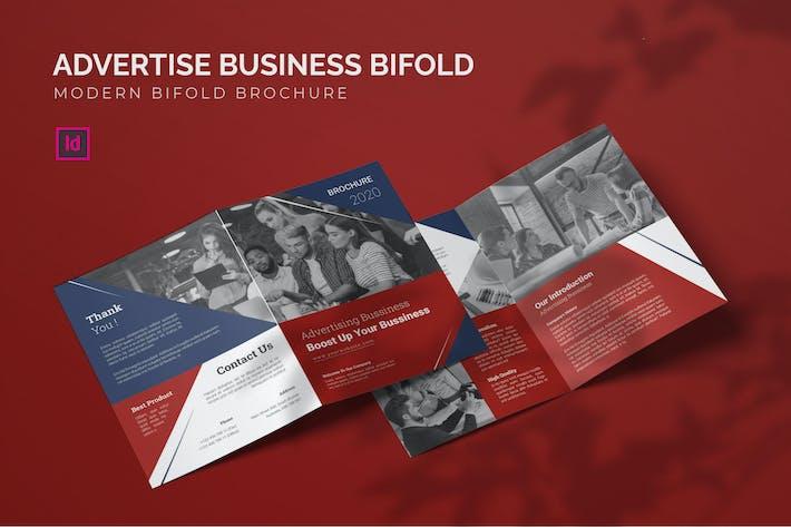 Thumbnail for Werbung für Business - Bifold Broschüre