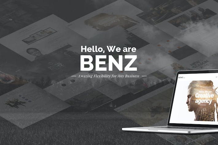 Thumbnail for Benz - Multipurpose Creative Template