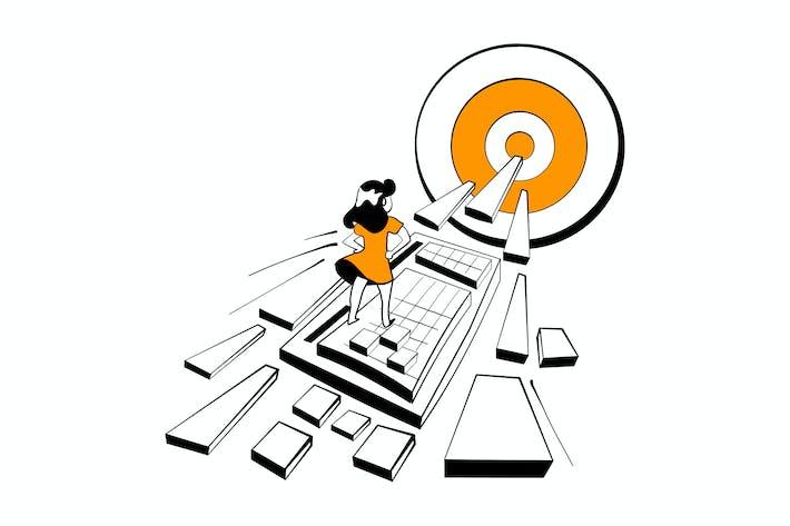 Thumbnail for Marketing Director Suche nach Schlüsselwörtern für die Website