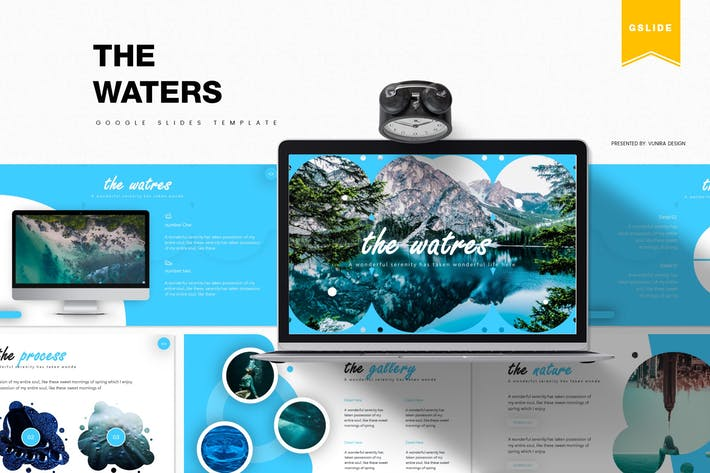 Thumbnail for The Waters | Google Slides Template