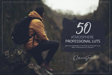 50 Atmosphere LUTs Pack