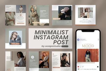 Minimalist Instagram Post Template