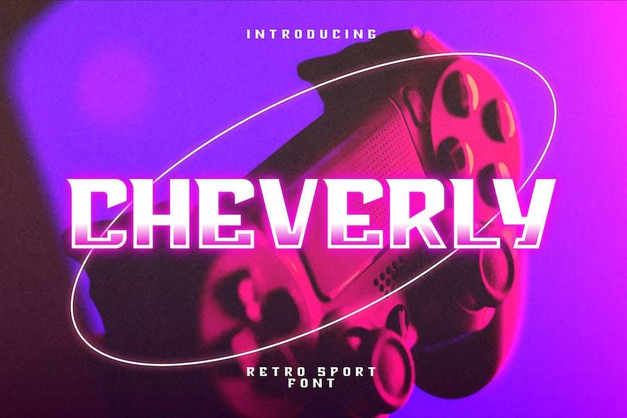Cheverly - Fuente Sport Retro