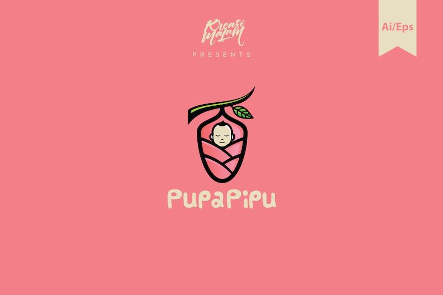 Pupapipu Logo Template
